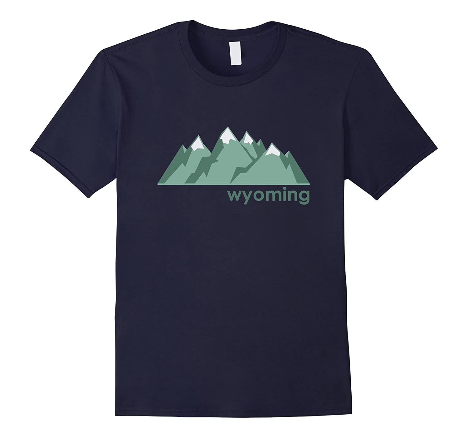 Wyoming Mountain Range - Wyoming T-Shirt-Art