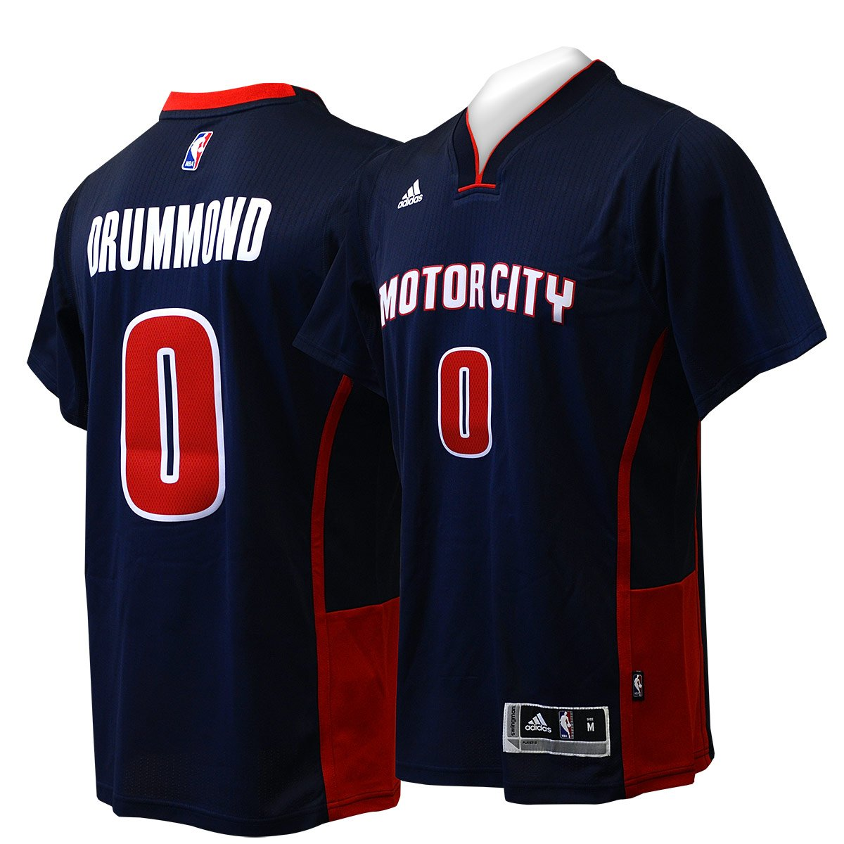 super popular e98e9 3454e best Andre Drummond Detroit Pistons Navy Motor City Adidas ...