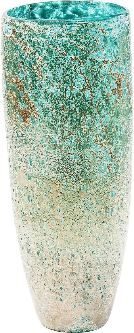 Blu Kare Vaso Moonscape Turchese 37 x 14.5 x 14.5 cm