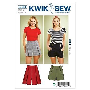 Kwik Sew Mustern K3854, Größe XS klein – mittel – groß – Extra große ...