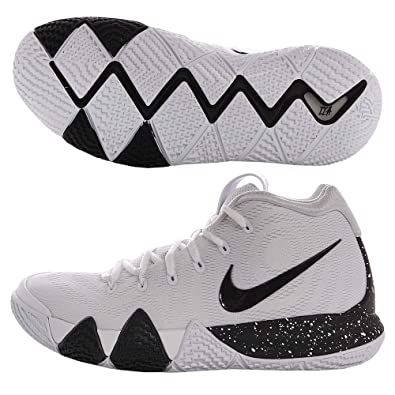 innovative design 905e3 47a65 Amazon.com   Nike Men s Kyrie 4TB Basketball Shoes (9.5, White Black)    Basketball