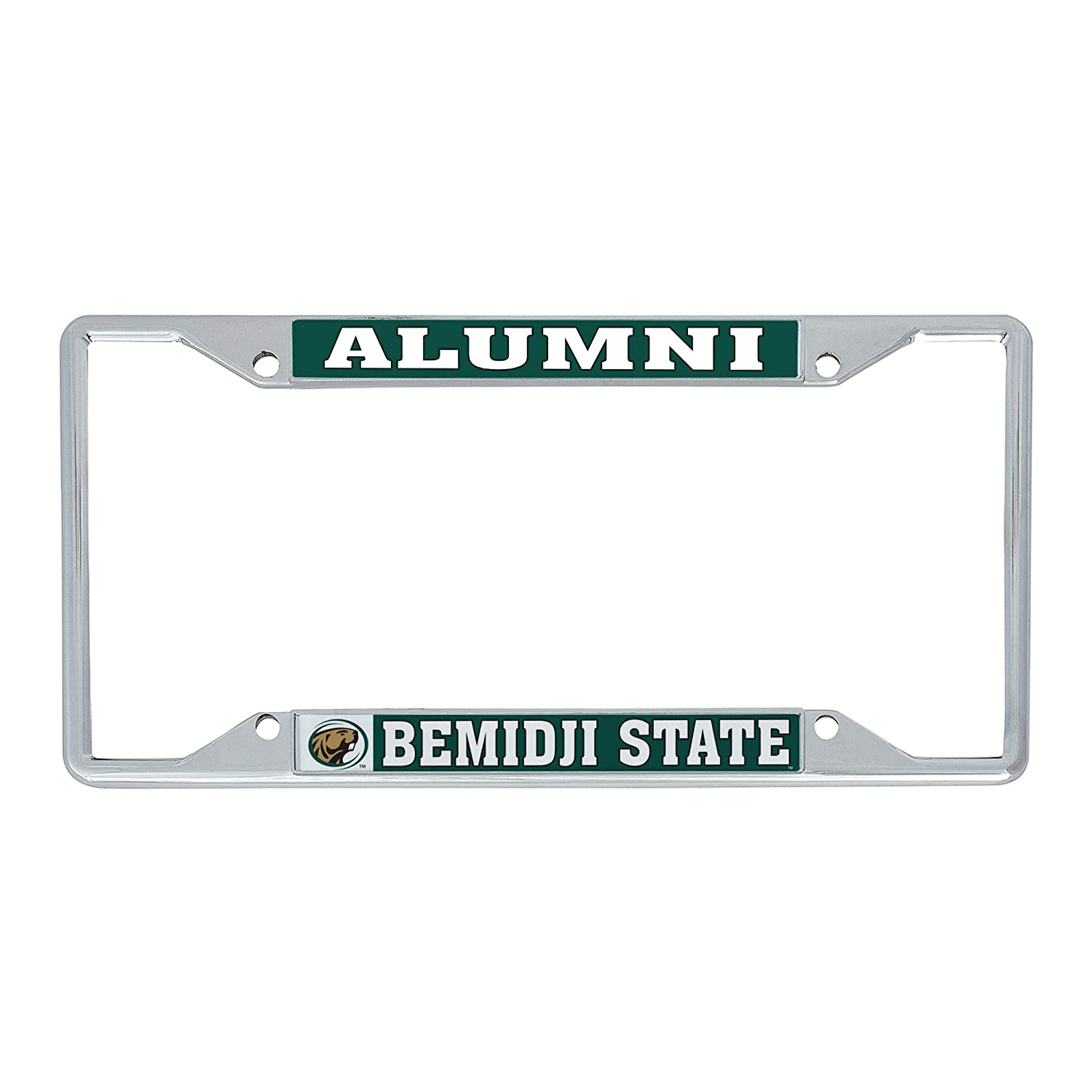 Desert Cactus Bemidji State University BSU Beavers NCAA Metal License Plate Frame for Front Back of Car Officially Licensed Alumni