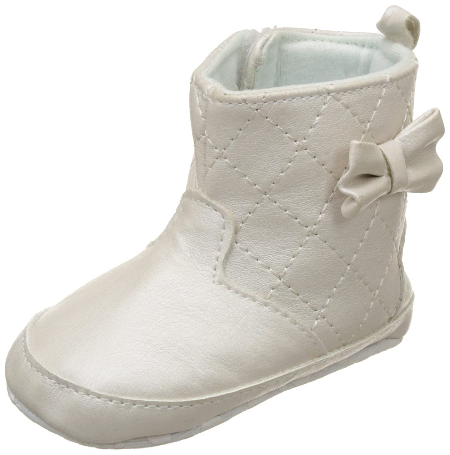 Mothercare Baby Girl's Off-White Boots