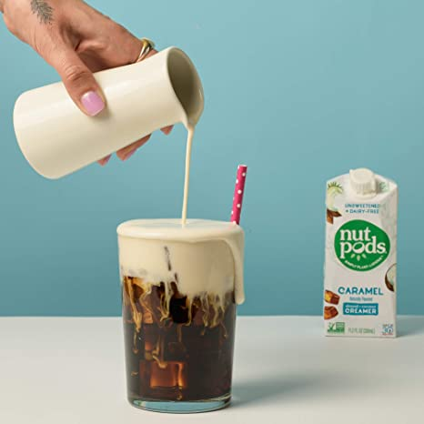 Nutpods Cremador sin azúcar sin lácteos de caramelo con ...