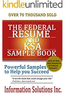 the federal resume and ksa sample book