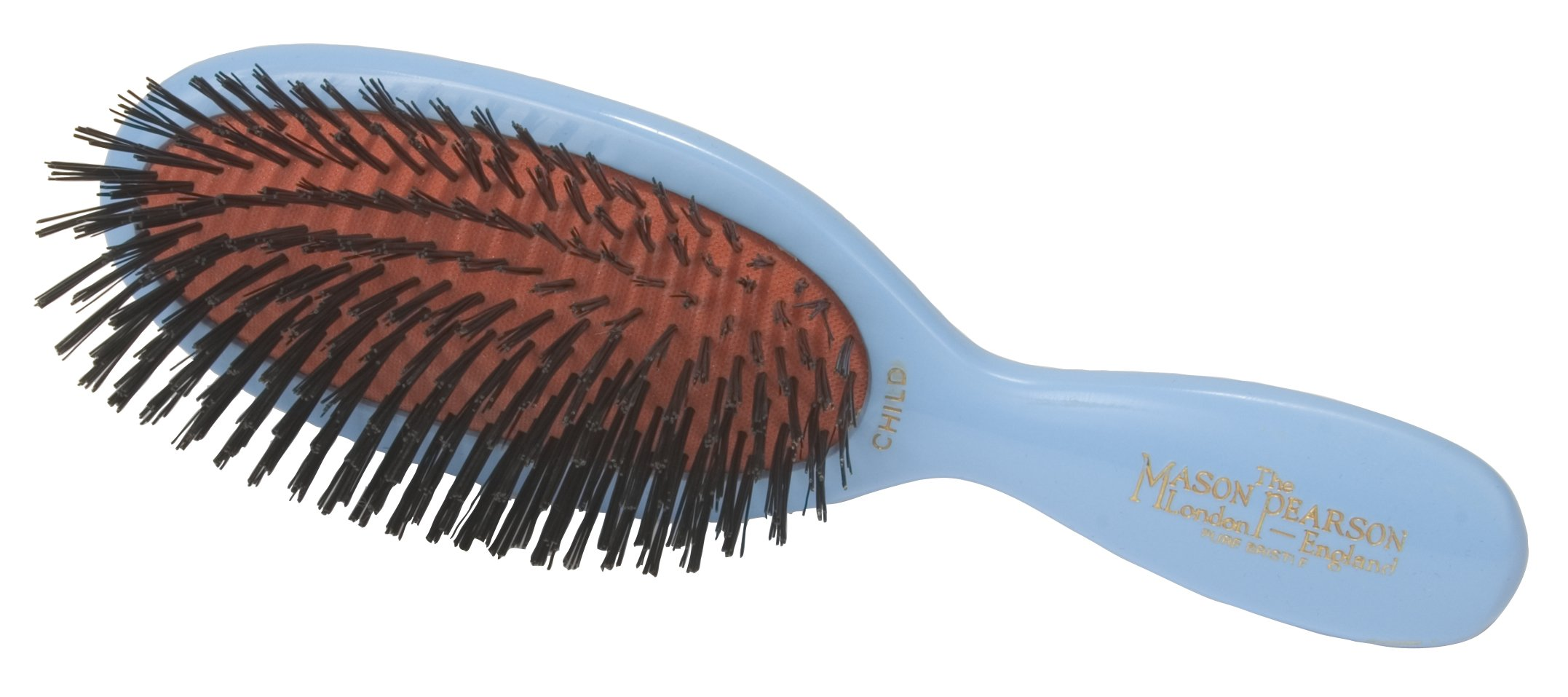 Mason Pearson Child's Hair Brush - 71qg6bodBaL - Mason Pearson Child's Hair Brush, Blue
