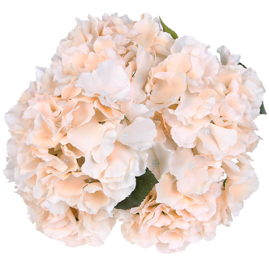 Amazon Luyue 5 Big Heads Artificial Silk Hydrangea Bouquet Fake