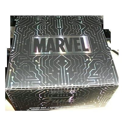Funko Pop! Marvel Gamer Gamestop Mystery 5 Piece Box Deadpool Miles Morales Spiderman Groot: Toys & Games