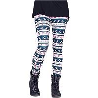 Cosy - Leggings Colorati Stampati (Taglia Unica)