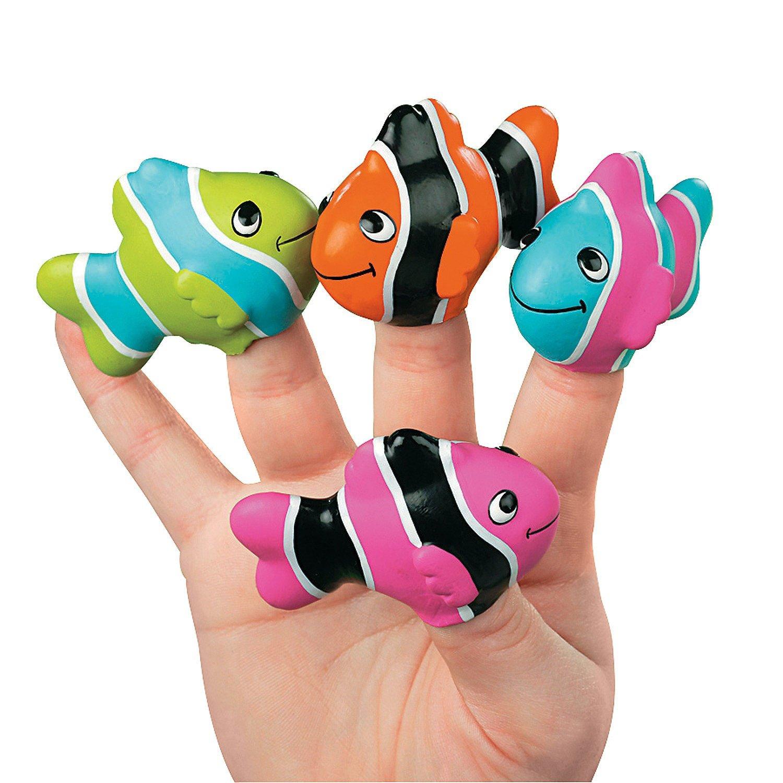 Amazon.com: Clown Fish Finger Puppets - Teaching Supplies & Teaching ...