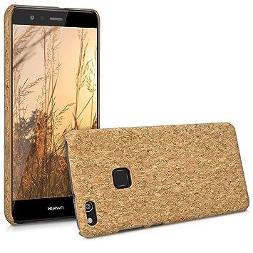 kwmobile Funda para Huawei P10 Lite - Carcasa Protectora de [Corcho] para teléfono móvil - Cover [Trasero] rígido y Resistente