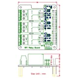 Electronics-Salon RPi Power Relay Board Expansion