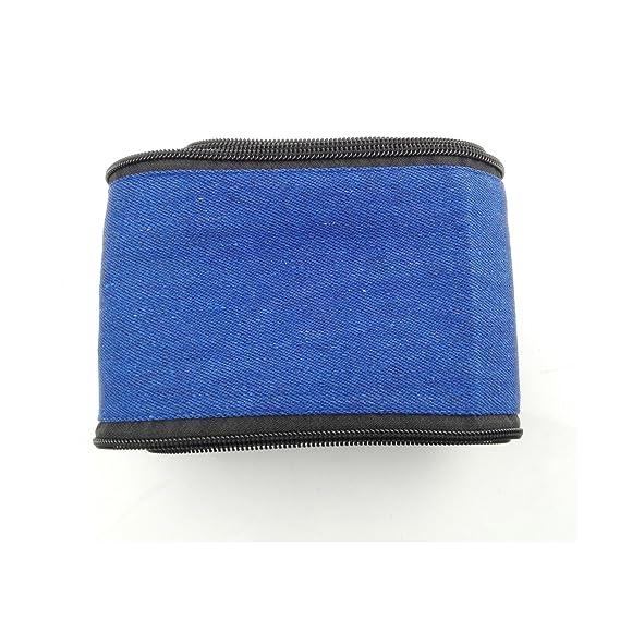 1PC Jeans Cloth TIG Welding Plasma Torch Cover Cable Hood 3.6M5CM Free Plastic Ribbon Fastener WA171123001