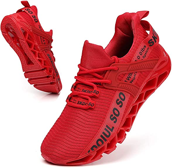4. SKDOIUL Breathable Trail Runners Fashion Sneaker