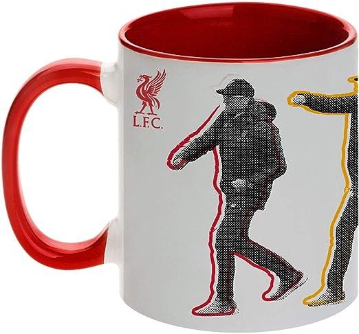 Becher mit Logo FC Liverpool LFC Offizielle Keks Tasse