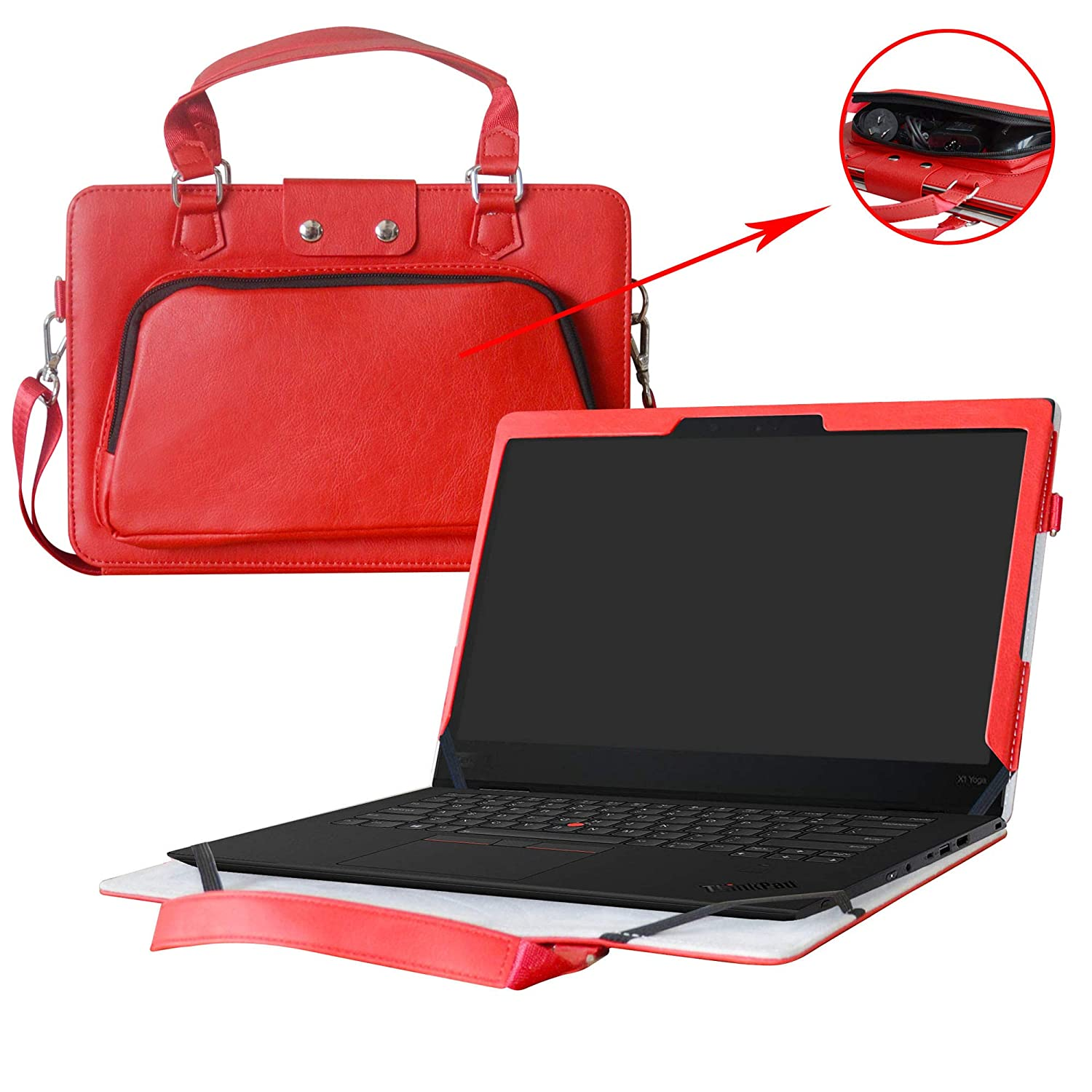 Thinkpad X1 Yoga Funda,2 in 1 Diseñado Especialmente La ...