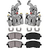 Hardware Callahan CCK04514 REAR Premium Semi-Loaded Original Brake Caliper Pair 2 for Hyundai Elantra Tiburon