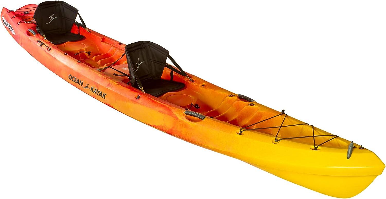 Ocean Kayak Zest Two Expedition Tandem Sit On Top Touring Kayak