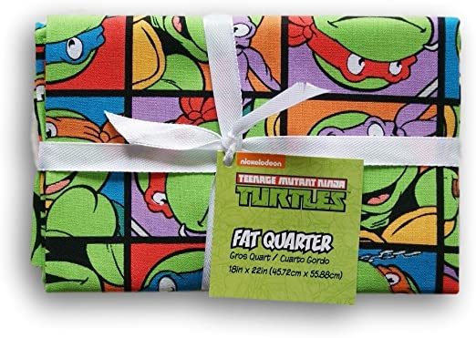 Amazon.com: Teenage Mutant Ninja Turtles Fat Quarter (18 x 22)