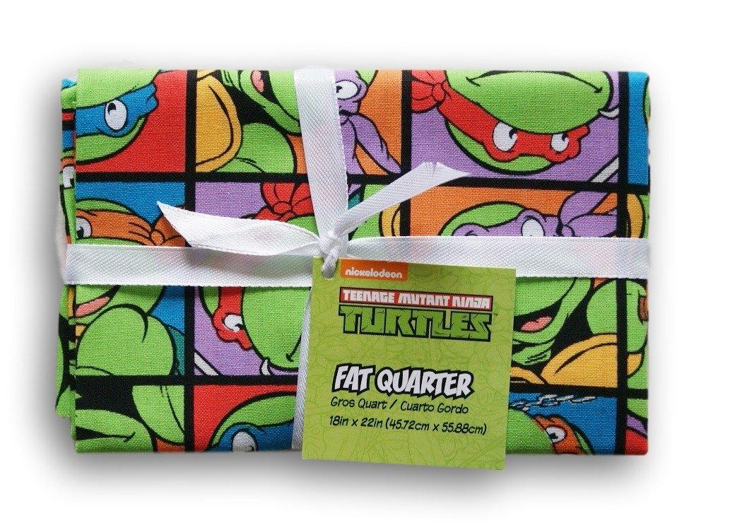 Teenage Mutant Ninja Turtles Fat Quarter (18 x 22) Springs Creative