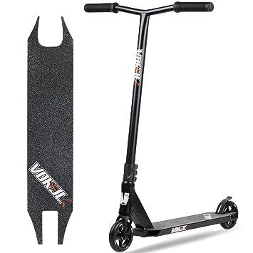 VOKUL Patinete Scooter Freestyle Stuntscooter para niños y niñas a Partir de 7 años y Adultos