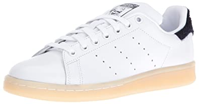 a5ea0397e3 adidas Originals Women's Stan Smith w Running Shoe White/Collegiate Navy,  ...