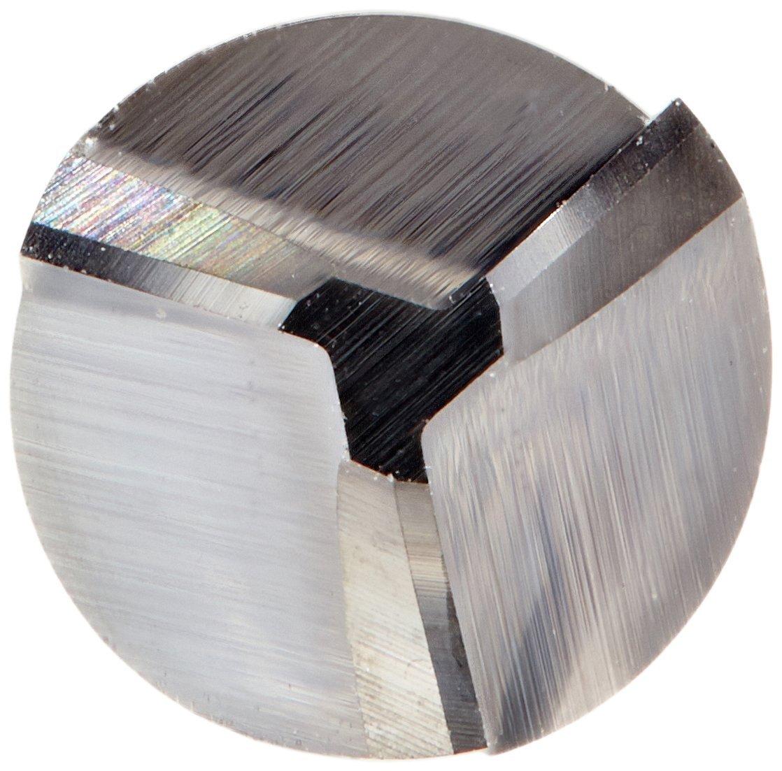 2 Overall Length 0.060 Minor Diameter 0.0550 Radius Solid Carbide Tool Micro 100 CRE-187-055 3 Flute Corner Rounding Double End Mill 3//16 Shank Diameter