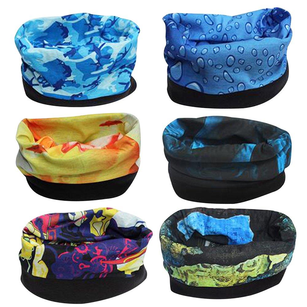 Magic Headwear Widescreen Outdoor Scarf Headbands Bandana Mask Neck Gaiter Head Wrap Mask Sweatband