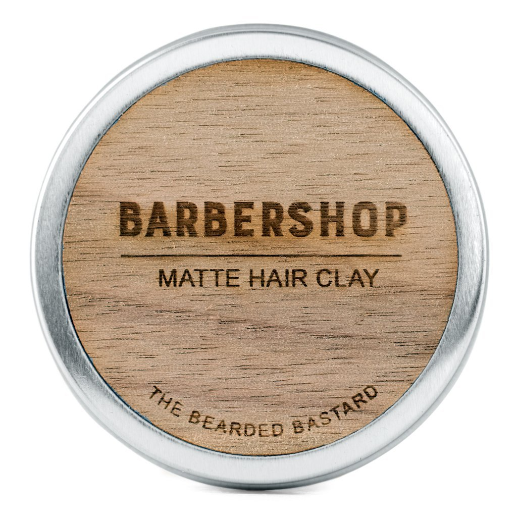 Barbershop Matte Hair Clay By The Bearded Bastard