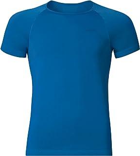 Odlo Unterhemd Shirt Shortsleeve Crew Neck Evolution X-Light, Maglietta Uomo