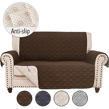 Amazon.com: RHF - Funda de sofá de piel antideslizante ...