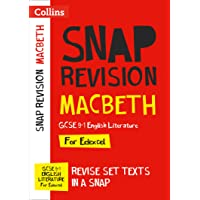 Macbeth: New Grade 9-1 GCSE English Literature Edexcel Text Guide (Collins GCSE 9-1 Snap Revision)