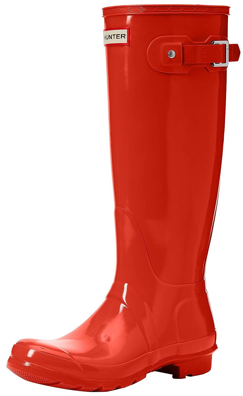 Hunter Women's Original Tall Rain Boot B01N0XC9VE 8 B(M) US Orange