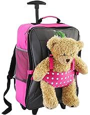 Cabin Max - Sac à roulettes pour enfant et pour son ours en peluche…
