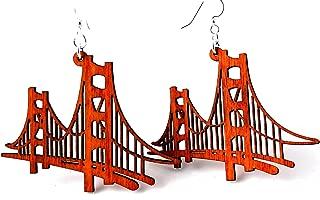 product image for Golden Gate Bridge Earrings