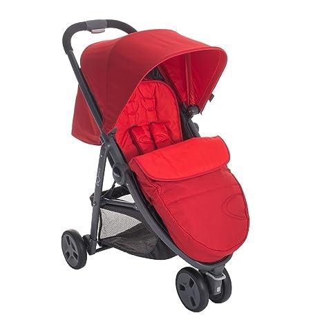 Graco Evo Mini - Cochecito de paseo Pompeian Red Fiery Red ...