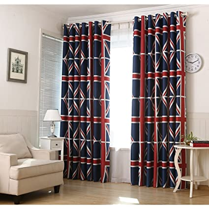Country Curtains Bandiera Inglese Finestra Tende Bambini ...