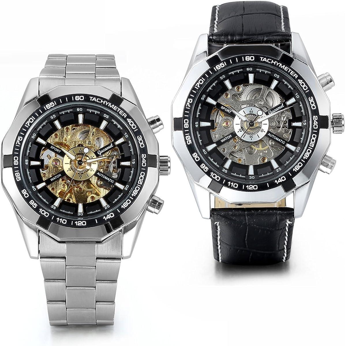 JewelryWe JW8000011W - Reloj de pulsera Hombre, Acero inoxidable
