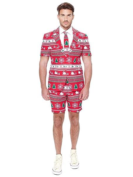 Amazon.com: OppoSuits Trajes de Navidad Verano para Hombre ...
