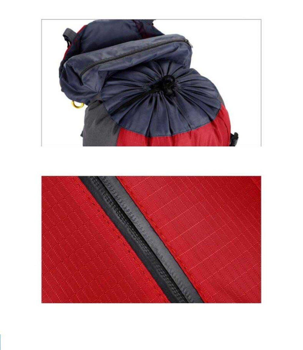 WuJiPeng Männer Und Frauen Outdoor-Ausrüstung Rucksack Große Kapazität Kapazität Kapazität Wandern Camping Rucksack 36-55L Reiten Und Wasserdicht Wanderrucksack B07D755L8W Wanderruckscke Ausgezeichnete Funktion 6107ad