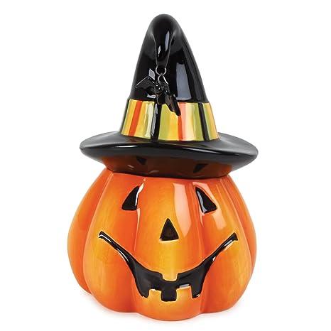 fitz floyd boo pumpkin lidded box