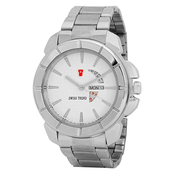 28cfe4c41d0 Buy Swiss Trend Latest Design Date and Day Watch for Men