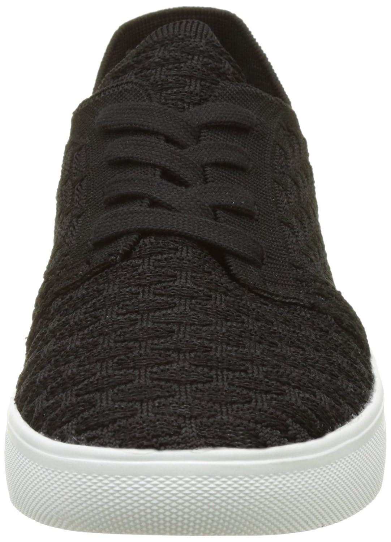ESPRIT Damen Lizette Lace Up Sneaker Schwarz schwarz) (001 schwarz) Schwarz 16246d
