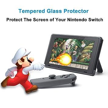 Amazon.com: Méxus 2 piezas interruptor Protector de pantalla ...