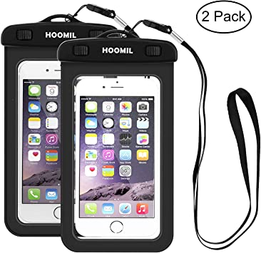 Hoomil – 2 fundas impermeables para iPhone 7 Plus, iPhone 6/6S ...