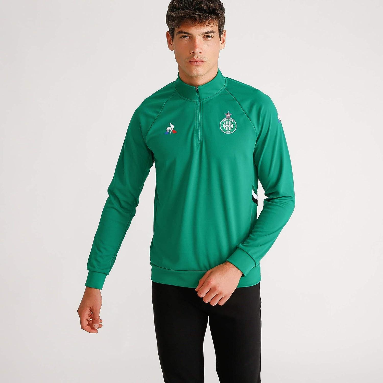 Le Coq Sportif Asse Training Sweat M Vert Forez Sweatshirt Femme