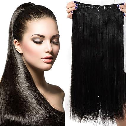 d251646a91f 26 quot  Extensions Cheveux Clips Monobande - Extension a Clip 66CM(26  pouces) -