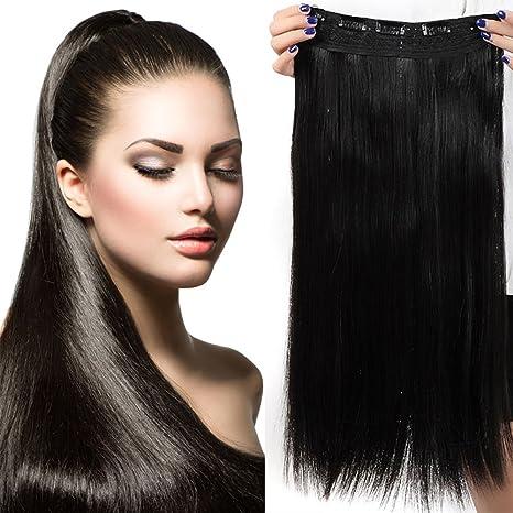 Extension cheveux long noir