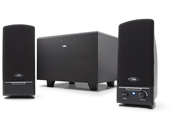 amazon com cyber acoustics 2 1 powered speaker system (ca 3001rbamazon com cyber acoustics 2 1 powered speaker system (ca 3001rb) computers \u0026 accessories
