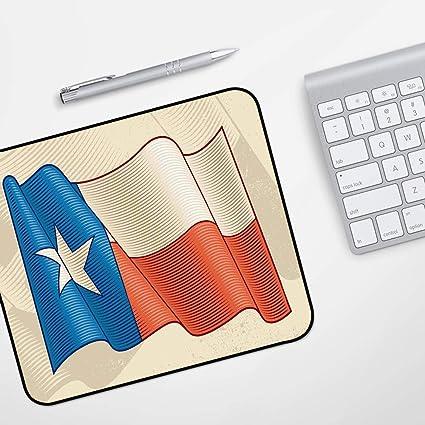 para Ratón con Cable o Inalámbrico,Texas Star, Flapping Texan Flag ...